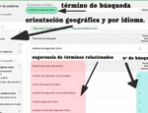 Herramientas para saber qué se busca en Google: Google Insights y Google Keyword Planner
