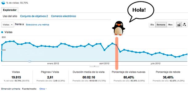 imagen analytics afectado por penguin