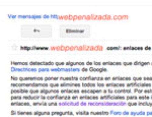 Cómo resolver una penalización de Google