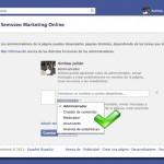 configurar administradores de pagina de empresa de facebook