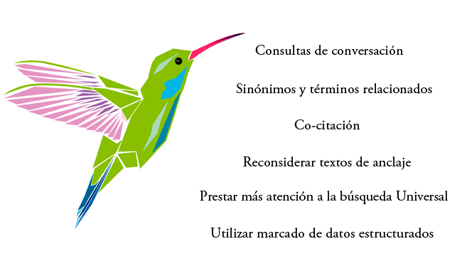 claves google hummingbird