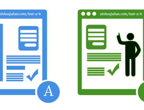 Consejos para ejecutar pruebas de marketing en tu sitio web o landing: Los test A/B. Simple y eficaz.