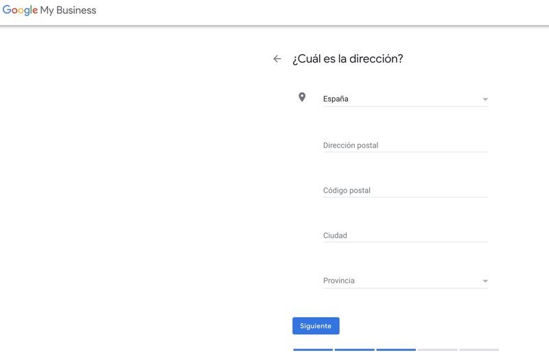 añadir localizacion de tu empresa en google