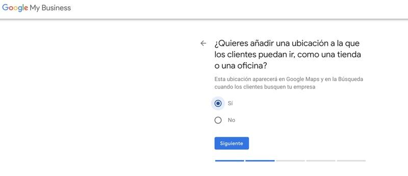 añadir tu localización a google