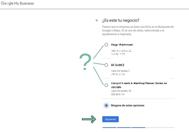 crear tu empresa en google