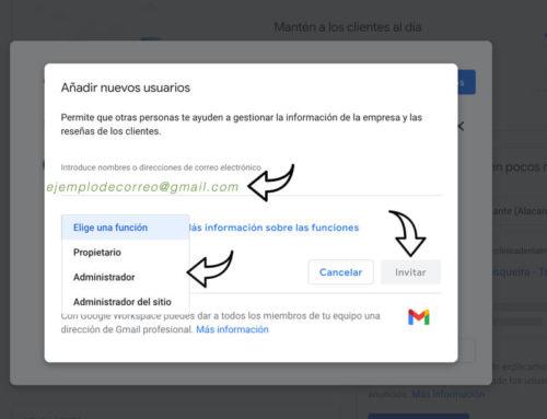 Cómo conceder acceso a las fichas de empresa de tu cuenta de Google My Business